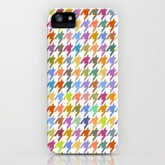 Houndstooth!  iPhone (5, 5s) Slim Case