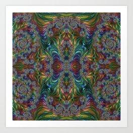 Take me to your l34der Art Print