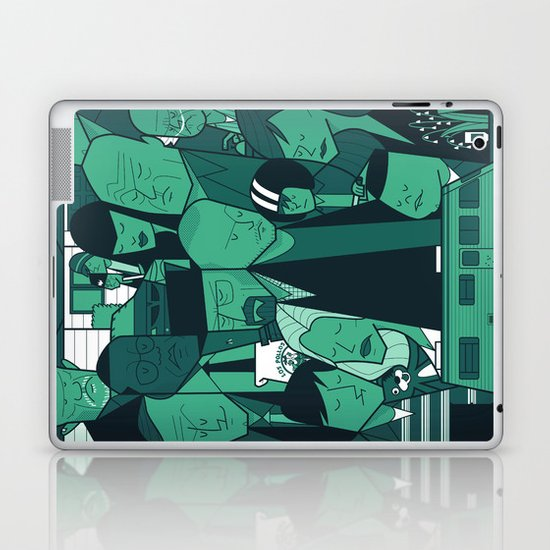 Breaking Bad (green version) Laptop & iPad Skin