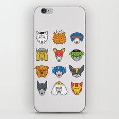 Super Dogs iPhone & iPod Skin