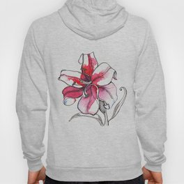 Pink Lily Hoody