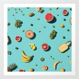 Fruities Art Print