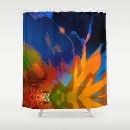 Fiori SqPX 6e Shower Curtain