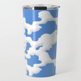 Cloud Lines Travel Mug
