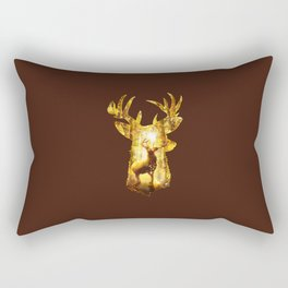 Deer's Woods Rectangular Pillow