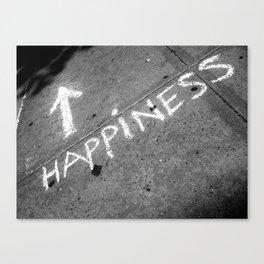 ⬆ Happiness Canvas Print
