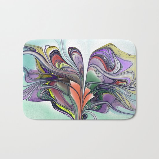 Butterfly Tree Bath Mat