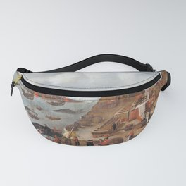 Abraham Speeck - Danish Whaling Station (1634) Fanny Pack