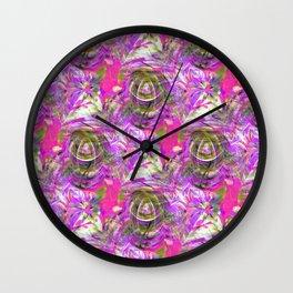 Le Fleurs.... Wall Clock