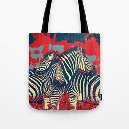 American Zebra Tote Bag