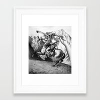napoleon Framed Art Prints featuring Napoleon by JamesLeach