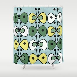 simply butterfly pattern Shower Curtain