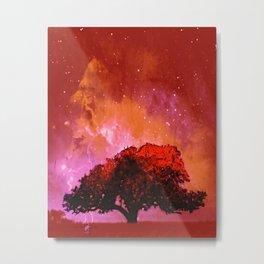 Fire Tree V Metal Print