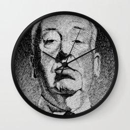 Fingerprint - Hitchcock Wall Clock