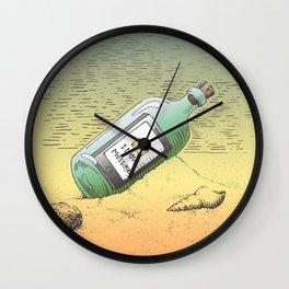 New Message Wall Clock