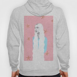Long Hair Hippie Hoody