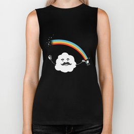 Magic Rainbow Biker Tank