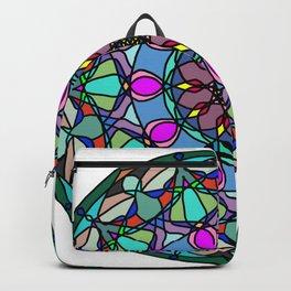 Meditation medallion. Backpack