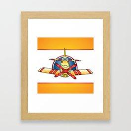 Airplane Print Framed Art Print