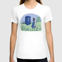 hallion T-shirts featuring Adventure in the Great Wide Somewhere by Karen Hallion Illustrations