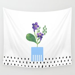 Potted Plant 3 Wall Tapestry