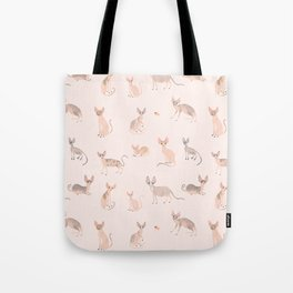 Sphynx Cats Tote Bag