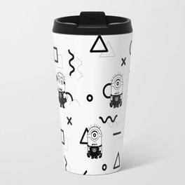 Memphis Minion Style Travel Mug