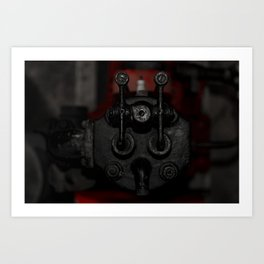 Engine Face One Art Print