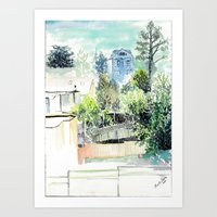 San Francisco Views Art Print