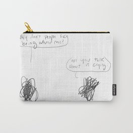 scribbles Carry-All Pouch