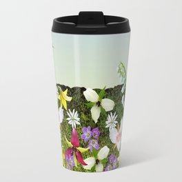Wildflower Garden Travel Mug