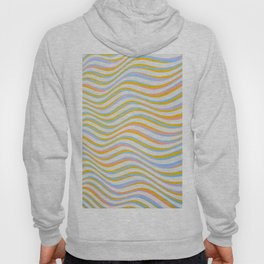 wave abstract art artistic Hoody