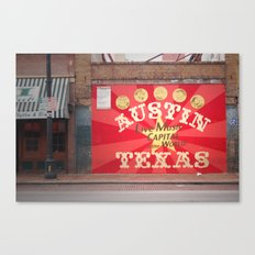 Live Music Capital of the World Canvas Print