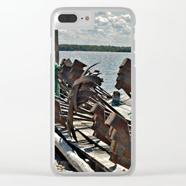Anchors Clear iPhone Case