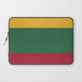 Lithuania flag emblem Laptop Sleeve