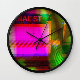 Anal St, Canal St Wall Clock