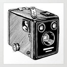 Box Brownie Art Print