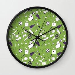 Sewing Wall Clock