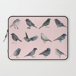 Sparrow Catalog Pink Laptop Sleeve