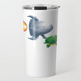 Fast Turtle Travel Mug