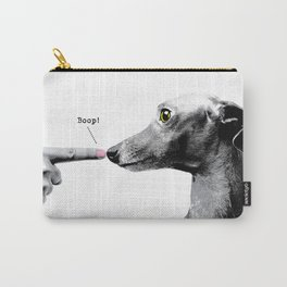 Boop! Italian Greyhound Carry-All Pouch