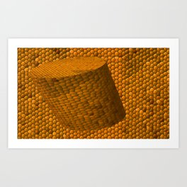 The corc mosaic Art Print
