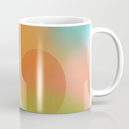 Dream World in Orange, Blue and Green Coffee Mug