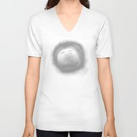 emoji V-neck T-shirts featuring EMOJI 2 by Ryan Laing
