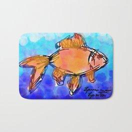 Beta fish Bath Mat