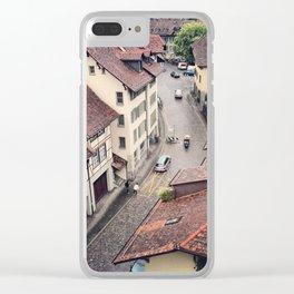 Berne cityscape, Switzerland Clear iPhone Case