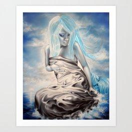 Satin Mermaid Art Print
