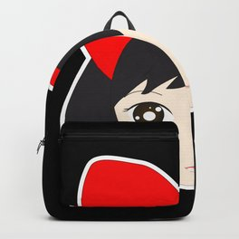 Kiki's Red Bow Backpack