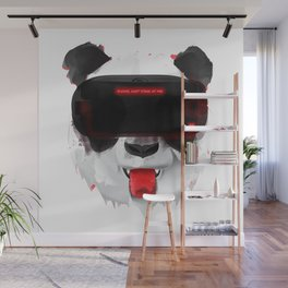 Panda VR - Please, dont stare at me! Wall Mural
