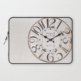 Antique Clock Laptop Sleeve